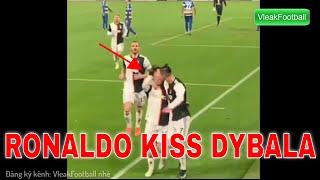 Juventus: Cristiano Ronaldo kiss Dybala after goal vs Parma | 19/01/2020
