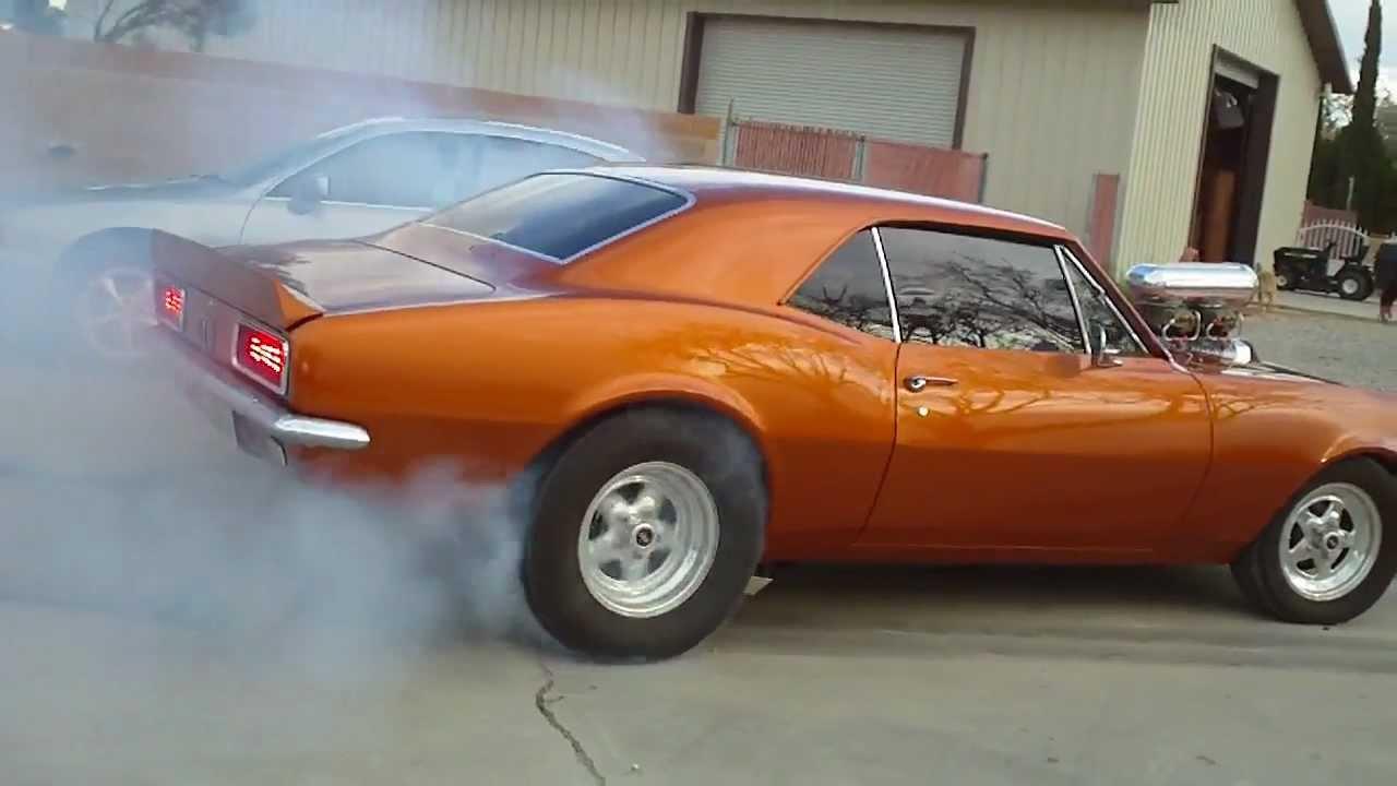 1967 Blown 454 Camaro Burnout Pt 2 Youtube