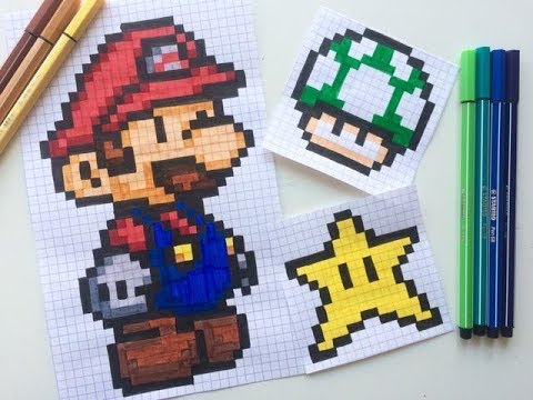 Photoshop Cc Pixel Art Mario