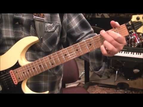 How to play Beatin The Odds by Molly Hatchet on guitar by Mike Gross