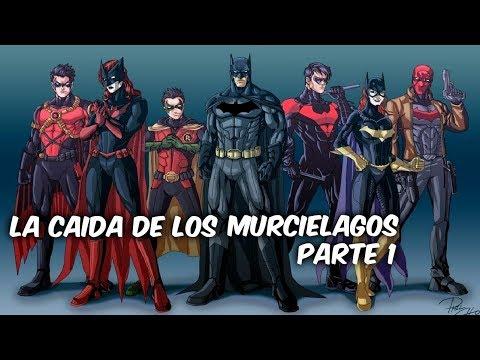 """BATMAN: """"LA CAIDA DE LOS MURCIELAGOS"""" Parte 1 @SoycomicsTj"""