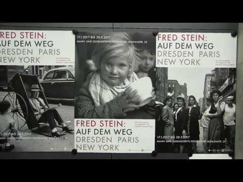 FRED STEIN - Ausstellungseröffnung. Auf dem Weg. Dresden/Paris/New York