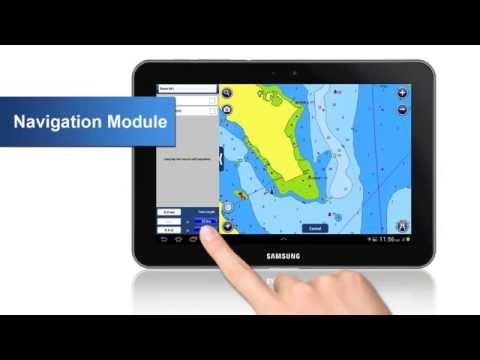 Navigation Module On Android Navionics Boating 2015