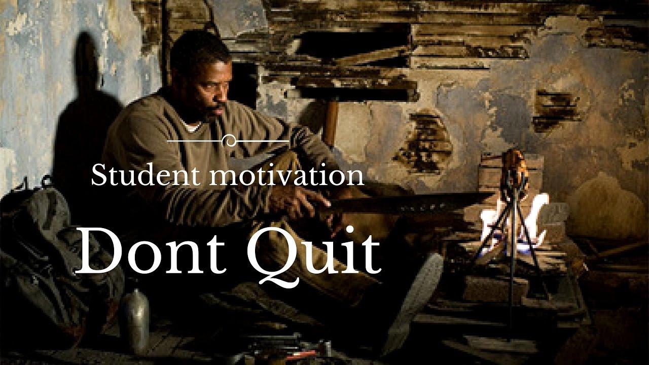 motivational speech to study