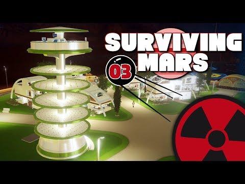 Surviving Mars - #03: Die ersten Menschen auf dem Mars! ☢ [Lets Play - Deutsch]