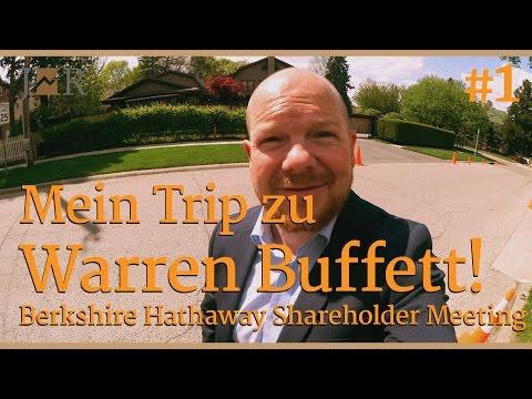 Mein Trip zu Warren Buffett - Berkshire Hathaway Shareholder Meeting -VLOG 1