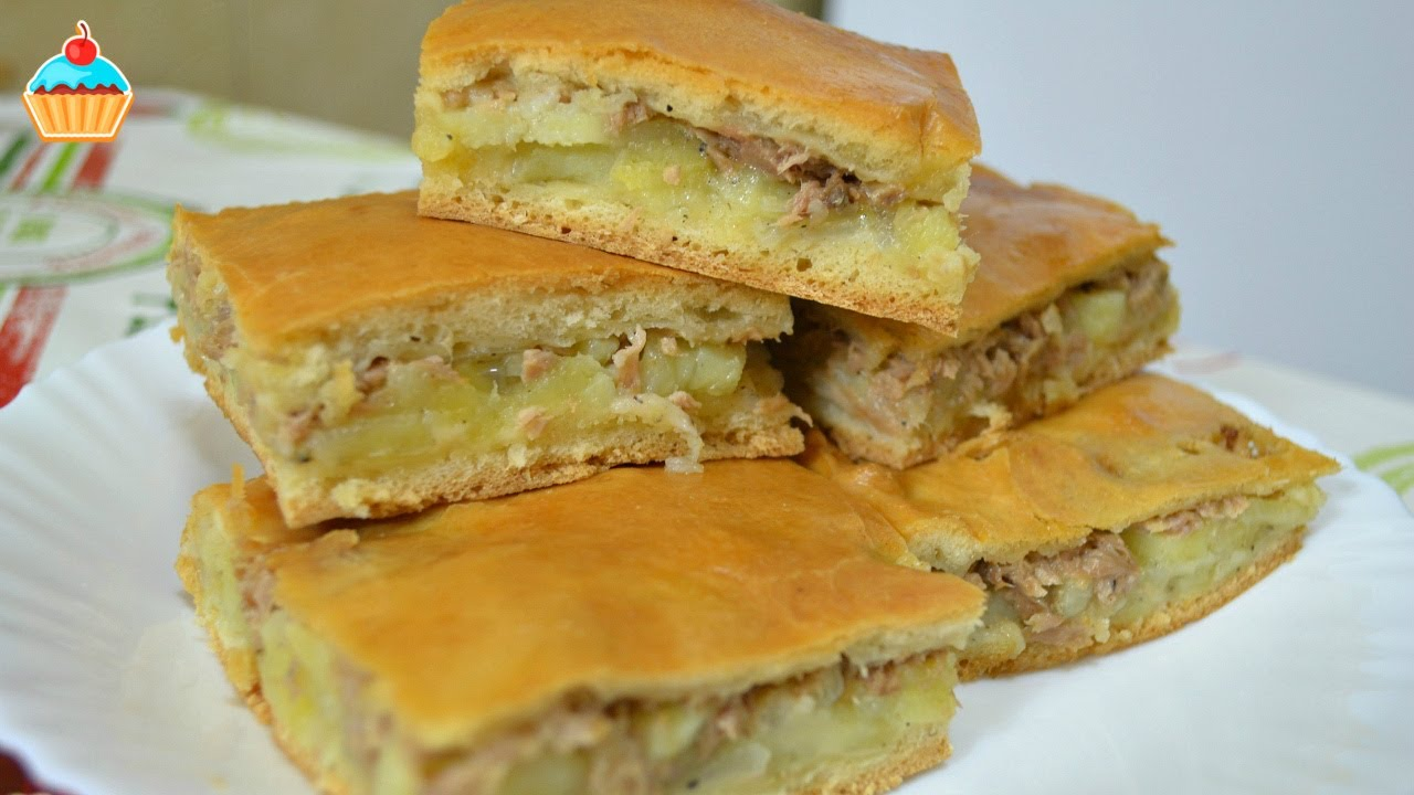 Ну, оОчень вкусный - Пирог с Рыбой и Картошкой! - YouTube