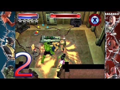 Marvel Ultimate Alliance 2 Nds Walkthrough Part 2 By Rasanbr