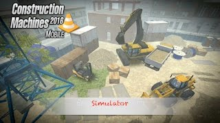 Construction Machines 2016 Mobile - App Check - iPhone / iPad iOS Game - PlayWay