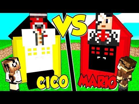 CASA *CICO* contro CASA *MARIO* su MINECRAFT!!
