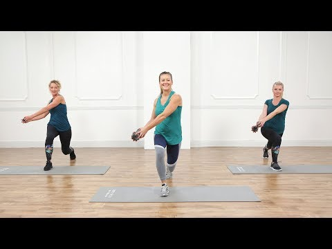 30-Minute Boot Camp For All Fitness Levels!