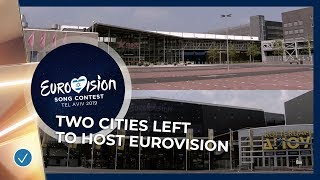Two cities left in the running to host the 2020 Eurovision Song Contest!