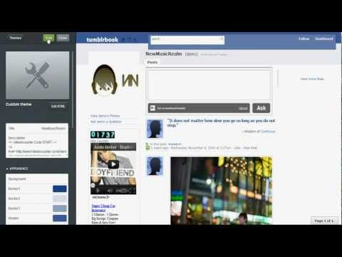 How to add music to tumblr and Autoplay -Voice Tutorial-