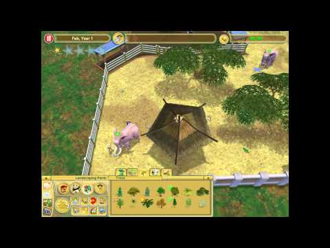 Zoo Tycoon 2 - Prevent Animal Abuse - African Elephant Rescue Walkthrough PC