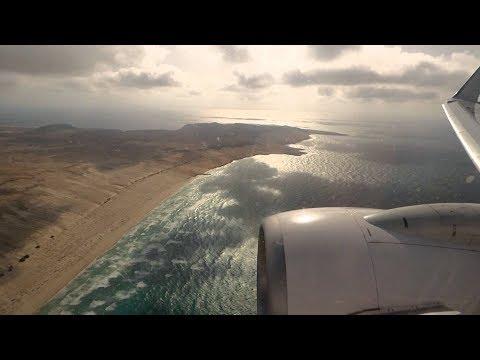 Travel Service B738: NDB circling approach at Rabil/Boa Vista (Cape Verde) Rwy 03