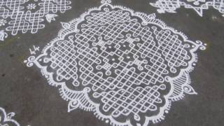 Mylapore Kolam Contest 2017 - Three