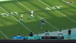 Detroit Lions beat Dolphins 32-21 (Kerryon Johnson 158 yds)😯