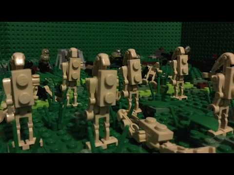 Lego Starwars Trench Defense MOC
