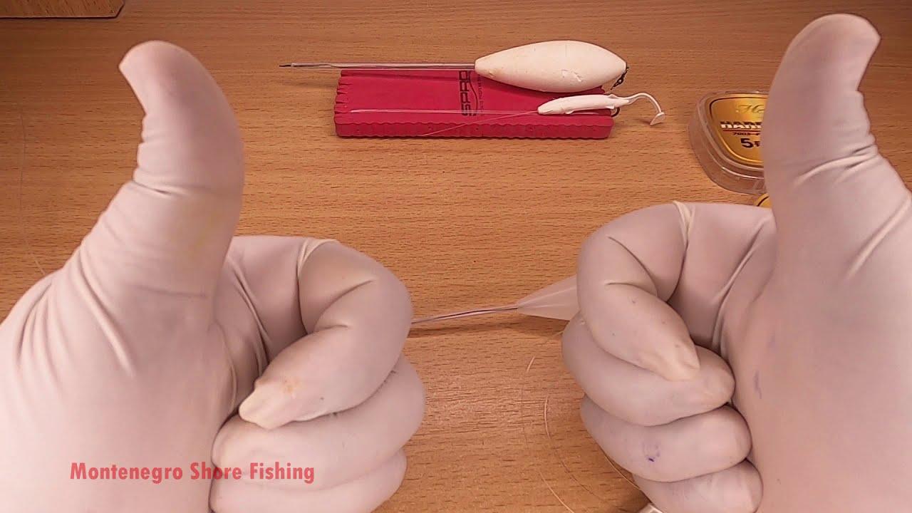 Dünyanın en ucuz Levrek Avı Tekniği - 1 lira silikon 2 lira zoka, World cheapest lures for seabass