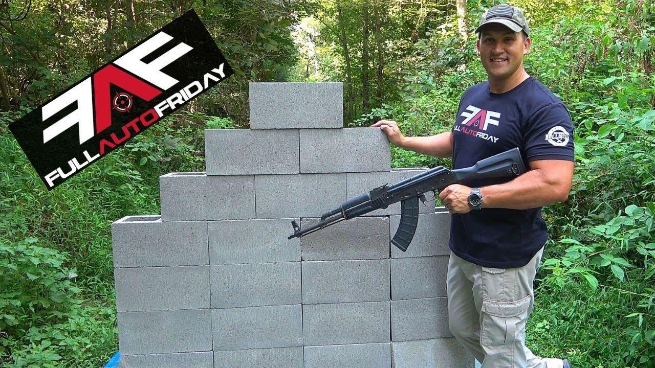 Download Full Auto Friday! AK-47 vs Cinder Block Wall! ⛏🦖