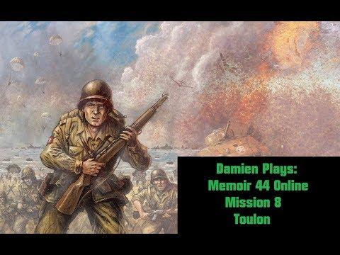 Damien Plays: Memoir '44 Online (2011) Mission 8: Toulon (Axis)