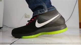9834ce82881 Nike Zoom All Out Flyknit performance - 用慢動作看Nike Zoom All Out Flyknit - Part  2