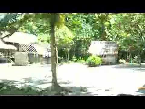 Drive through village on Nendo Island