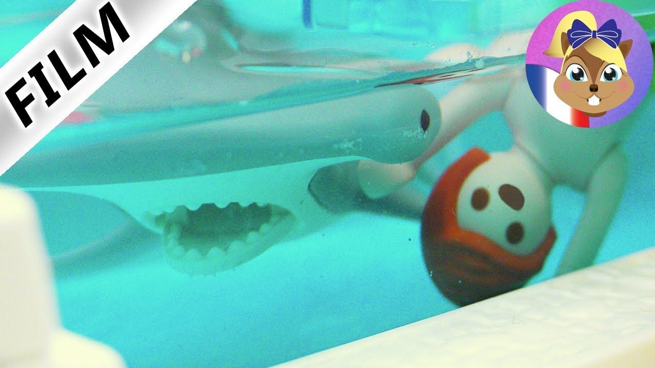 Film playmobil en fran ais un requin dans la piscine for Apprendre a plonger dans la piscine