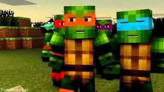 Minecraft-МЫ НЕ ЖАЛКИЕ БУКАШКИ [Черепашки ниндзя]