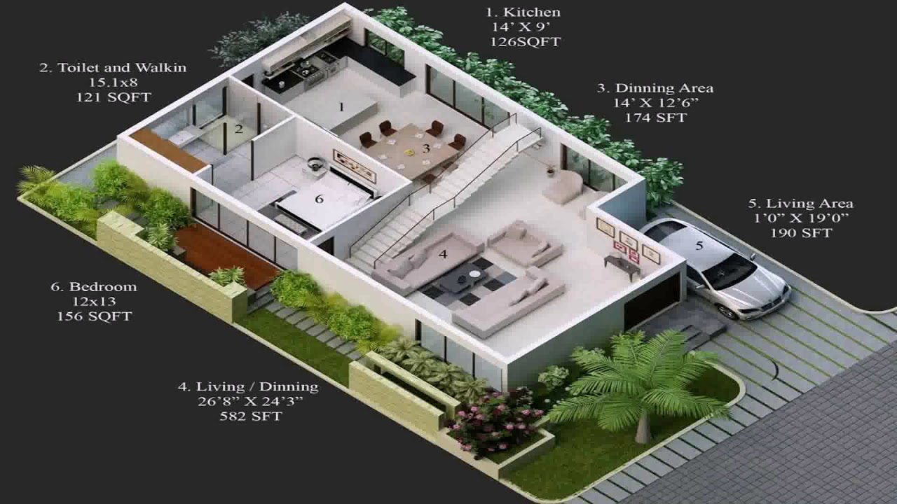House plans for 20x30 site north facing youtube for 30x50 duplex house plans