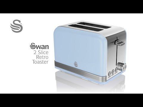 Swan - Retro Range - 2 Slice Toaster - ST19010