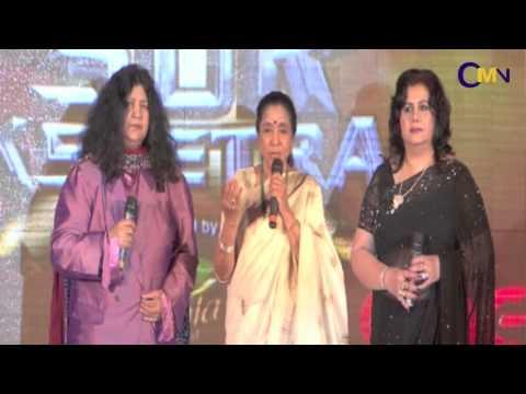 Asha Bhosle, Atif Aslam And Himesh Reshammiya At Sur-Kshetra