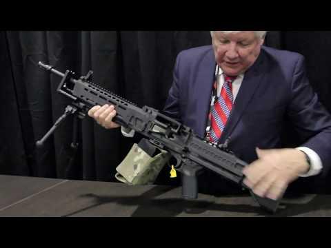 KAC - Knights Armament Company - 7.62 MachineGun - ShotShow 2019