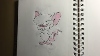 476 - How to Draw the Brain from Pinky and the Brain
