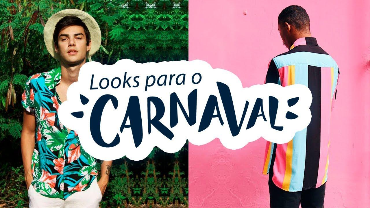 Moda Masculina CARNAVAL 2019: Ideias de Looks Masculinos