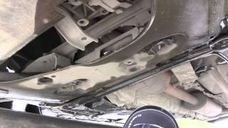 Замена нижней опоры двигателя Рено Меган 2(, 2015-05-22T19:20:43.000Z)