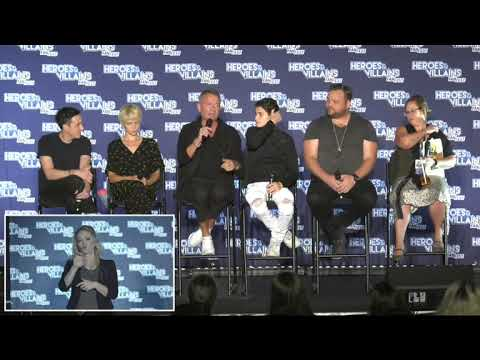 Gotham : David Mazouz, Robin Lord Taylor, Drew Powell, and more HVFF New Jersey 2018