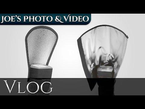 Neewer Speedlite Flash Refector And Bender Snoot - Quick Overview