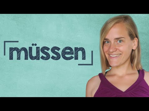 "German Lesson (58) - The Verb ""müssen"" - Modal Verbs - A2"