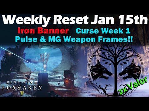 Weekly Reset - Jan 15th - Iron Banner - Destiny 2 Black Armory thumbnail