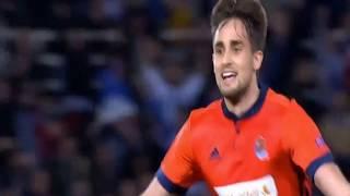 Video Gol Pertandingan Red Bull Salzburg vs Real Sociedad
