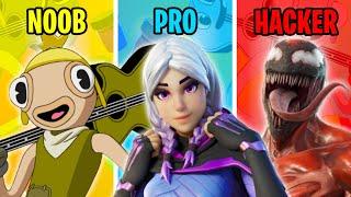 NOOB vs PRO vs HACKER - Fortnite Funny Moments #100