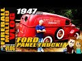 Cool 1947 Ford Panel Van - FIREBALL MALIBU VLOG 124