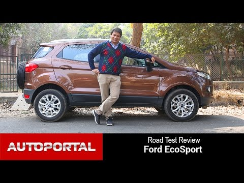 2016 ford ecosport test drive review autoportal youtube. Black Bedroom Furniture Sets. Home Design Ideas