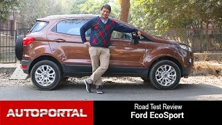2016 Ford Ecosport Test Drive Review - Autoportal