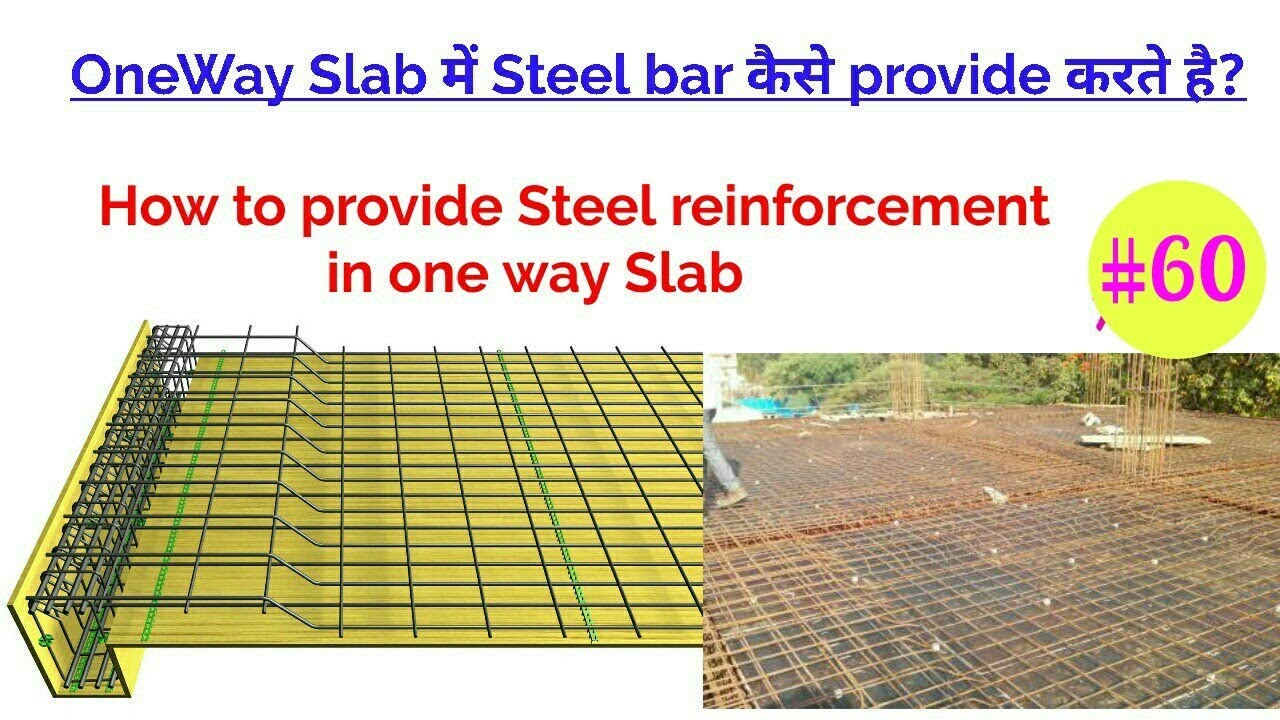 one way slab reinforcement detail what is oneway slab oneway