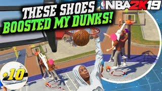 NBA 2K19 Park: Dunked On Him 3 Times In One Game! New Shoes Boosted Dunks! NBA 2K19 Park Gameplay