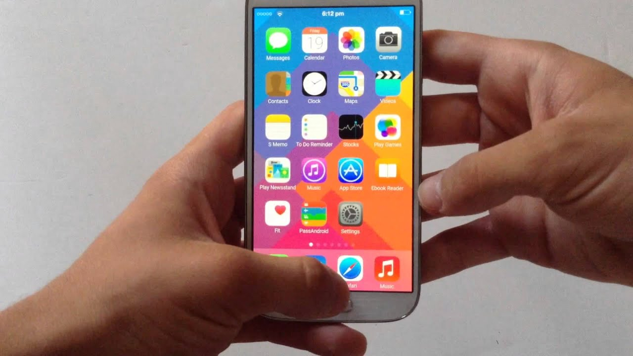 Скачать прошивку iOS на Андроид