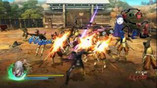 PS3&wii「戦国BASARA3」石田三成ムービー。