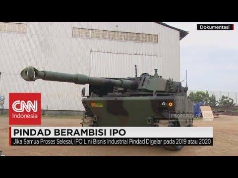 Pabrik Senjata PT Pindad Berambisi IPO